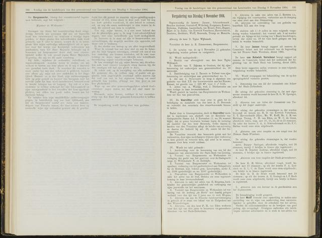 Raadsverslagen van de gemeente Leeuwarden, 1865-2007 (Notulen) 1904-11-08