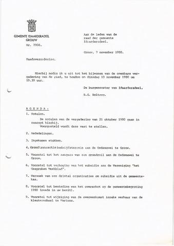 raadsverslagen Idaarderadeel 1935-1983 1980-11-18