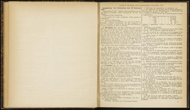 Raadsverslagen van de gemeente Leeuwarden, 1865-2007 (Notulen) 1872-02-22