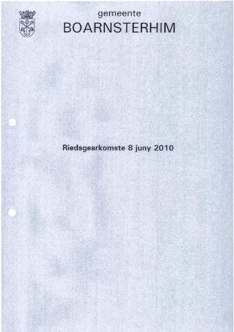 Boarnsterhim vergaderstukken gemeenteraad  2010-06-08