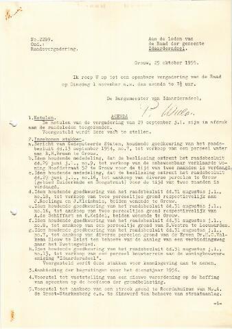 raadsverslagen Idaarderadeel 1935-1983 1955-11-01