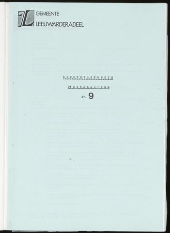 Notulen van de gemeenteraad van Leeuwarderadeel 1988-10-27