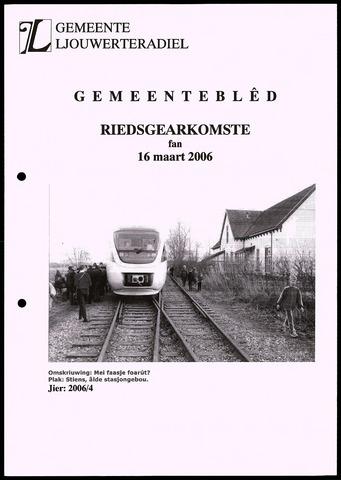 Notulen van de gemeenteraad van Leeuwarderadeel 2006-03-16