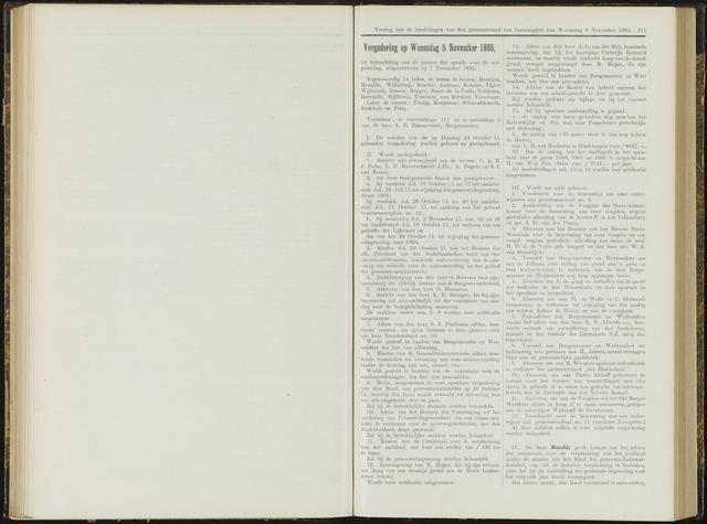 Raadsverslagen van de gemeente Leeuwarden, 1865-2007 (Notulen) 1905-11-08