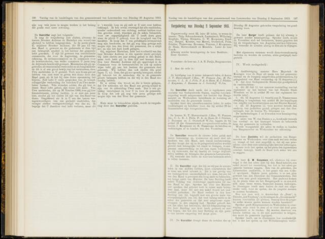 Raadsverslagen van de gemeente Leeuwarden, 1865-2007 (Notulen) 1913-09-02