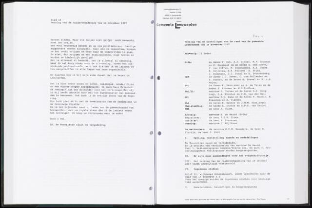 Raadsverslagen van de gemeente Leeuwarden, 1865-2007 (Notulen) 2008