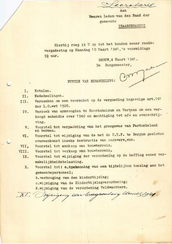 raadsverslagen Idaarderadeel 1935-1983 1941