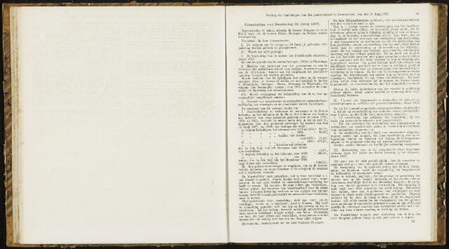 Raadsverslagen van de gemeente Leeuwarden, 1865-2007 (Notulen) 1877-06-21