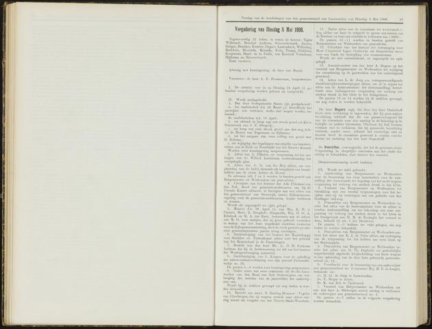 Raadsverslagen van de gemeente Leeuwarden, 1865-2007 (Notulen) 1906-05-08