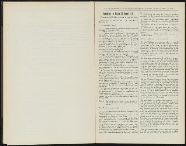 Raadsverslagen van de gemeente Leeuwarden, 1865-2007 (Notulen) 1934