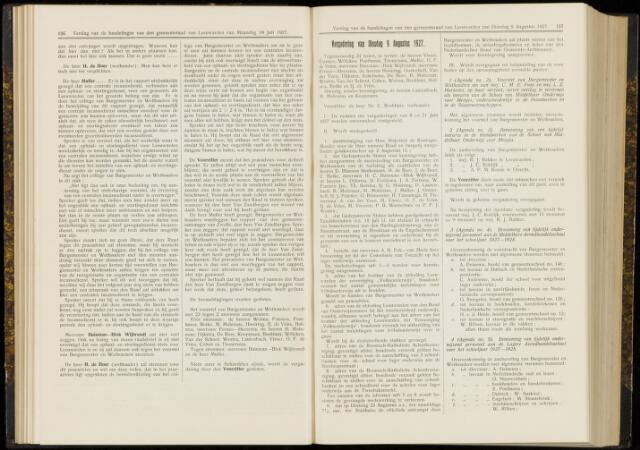 Raadsverslagen van de gemeente Leeuwarden, 1865-2007 (Notulen) 1927-08-09
