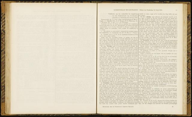 Raadsverslagen van de gemeente Leeuwarden, 1865-2007 (Notulen) 1866-06-14