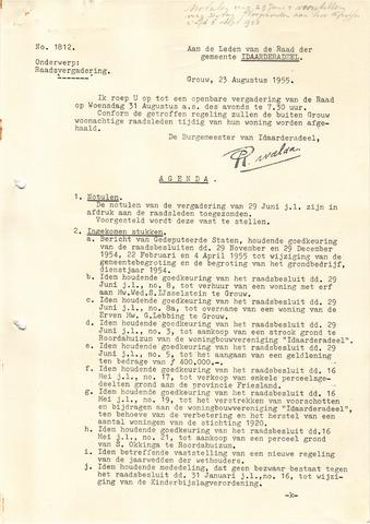 raadsverslagen Idaarderadeel 1935-1983 1955-08-31