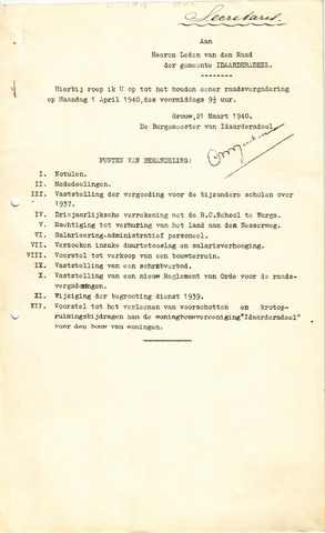 raadsverslagen Idaarderadeel 1935-1983 1940-04-01