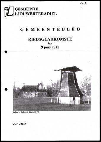 Notulen van de gemeenteraad van Leeuwarderadeel 2011-06-09