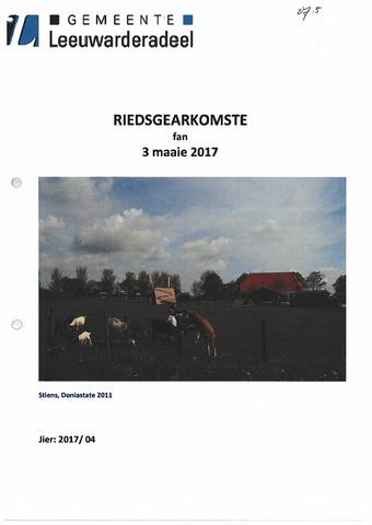 Notulen van de gemeenteraad van Leeuwarderadeel 2017-05-03