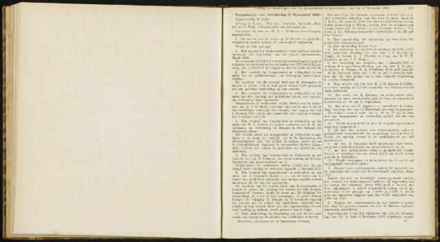 Raadsverslagen van de gemeente Leeuwarden, 1865-2007 (Notulen) 1880-11-11