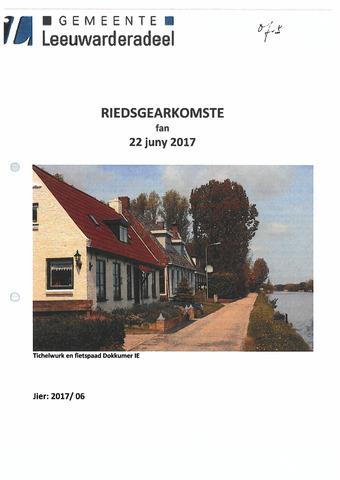 Notulen van de gemeenteraad van Leeuwarderadeel 2017-06-22