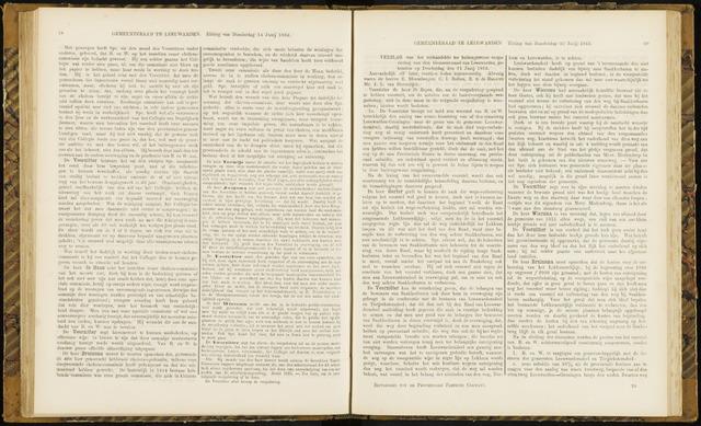 Raadsverslagen van de gemeente Leeuwarden, 1865-2007 (Notulen) 1866-06-21