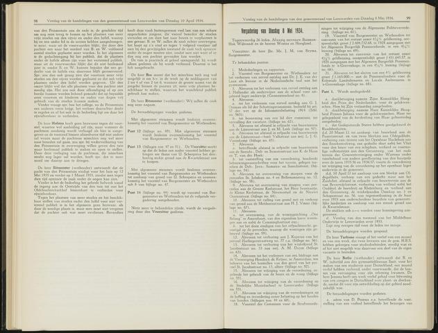 Raadsverslagen van de gemeente Leeuwarden, 1865-2007 (Notulen) 1934-05-08