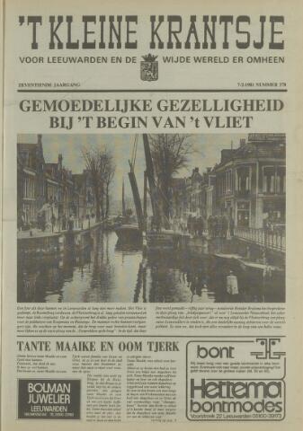 't Kleine Krantsje, 1964-1997 1981-02-07
