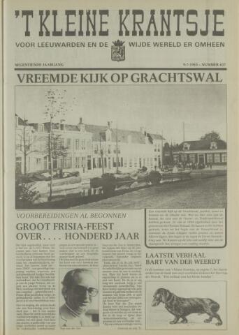 't Kleine Krantsje, 1964-1997 1983-07-09