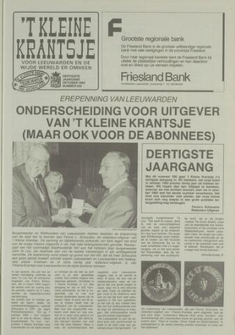 't Kleine Krantsje, 1964-1997 1993-10-01