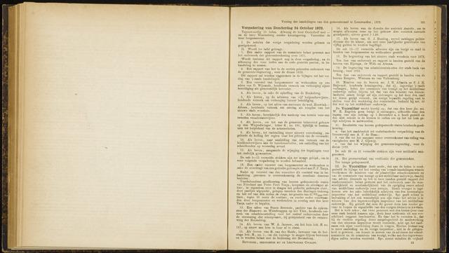 Raadsverslagen van de gemeente Leeuwarden, 1865-2007 (Notulen) 1872-10-24