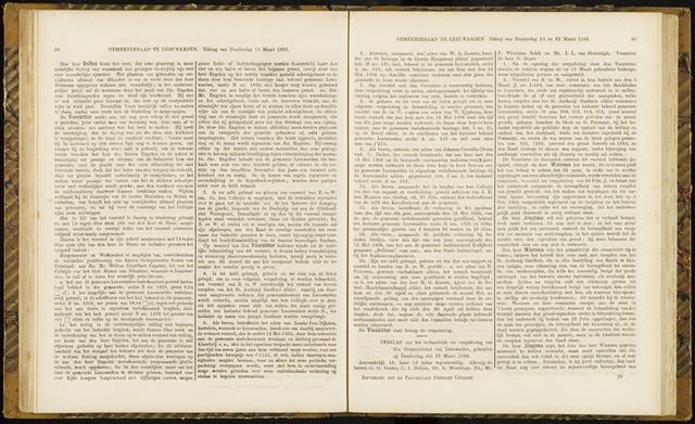 Raadsverslagen van de gemeente Leeuwarden, 1865-2007 (Notulen) 1866-03-22