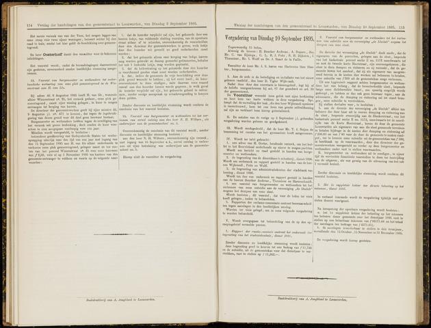 Raadsverslagen van de gemeente Leeuwarden, 1865-2007 (Notulen) 1895-09-10