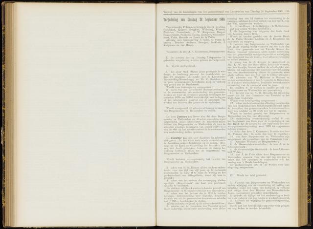 Raadsverslagen van de gemeente Leeuwarden, 1865-2007 (Notulen) 1909-09-28