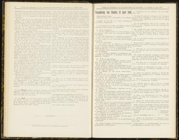 Raadsverslagen van de gemeente Leeuwarden, 1865-2007 (Notulen) 1898-04-12