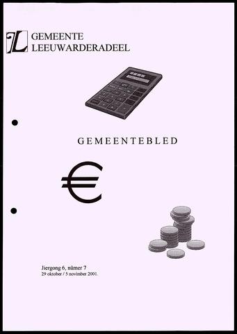 Notulen van de gemeenteraad van Leeuwarderadeel 2001-10-29