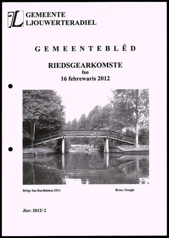 Notulen van de gemeenteraad van Leeuwarderadeel 2012-02-16