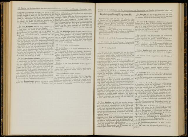 Raadsverslagen van de gemeente Leeuwarden, 1865-2007 (Notulen) 1908-09-22