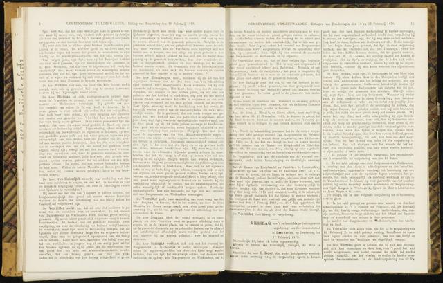 Raadsverslagen van de gemeente Leeuwarden, 1865-2007 (Notulen) 1870-02-17