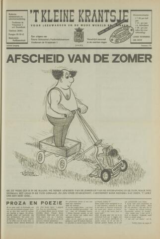 't Kleine Krantsje, 1964-1997 1972-09-23