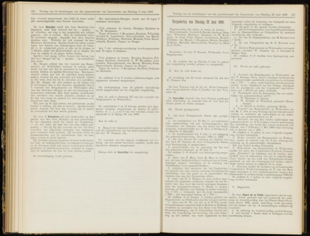Raadsverslagen van de gemeente Leeuwarden, 1865-2007 (Notulen) 1909-06-22