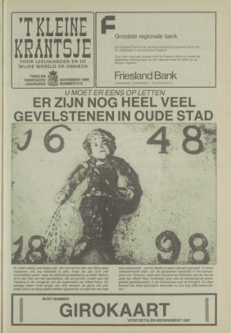 't Kleine Krantsje, 1964-1997 1986-11-01