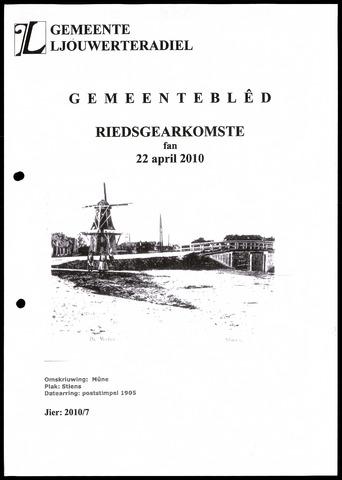 Notulen van de gemeenteraad van Leeuwarderadeel 2010-04-22