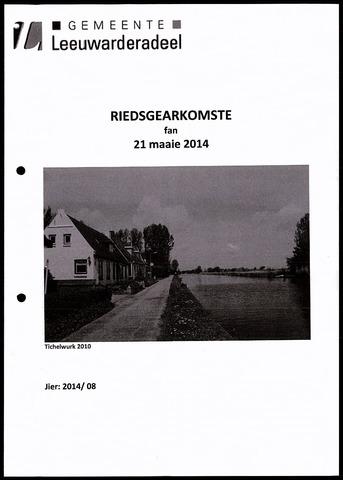 Notulen van de gemeenteraad van Leeuwarderadeel 2014-05-21