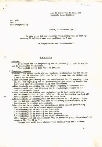 raadsverslagen Idaarderadeel 1935-1983 1961-02-27