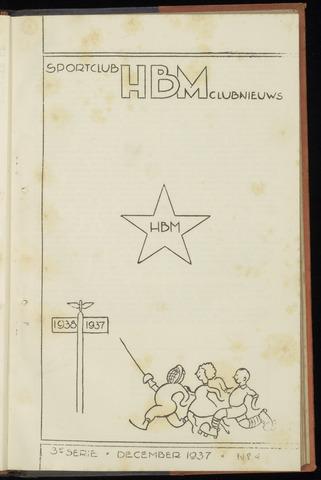 Sportclub H.B.M. Clubnieuws 1937-12-01
