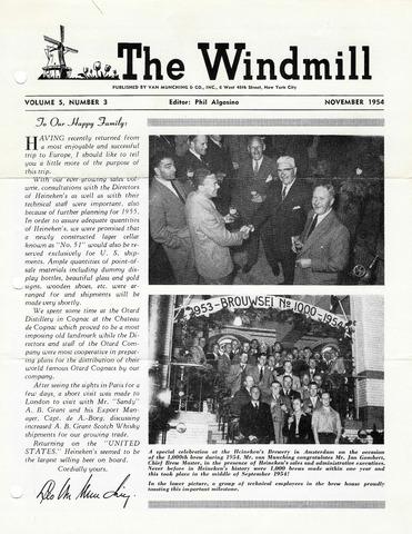 The Windmill 1954-11-01