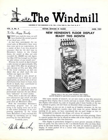 The Windmill 1959-06-01