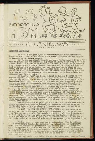 Sportclub H.B.M. Clubnieuws 1937-05-01