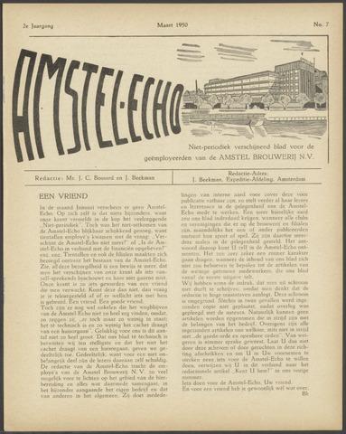 Amstel - Echo 1950-03-01