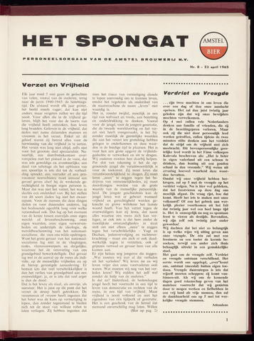 Amstel - Het Spongat 1965-04-23