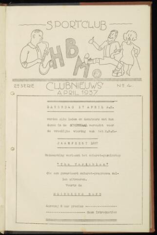 Sportclub H.B.M. Clubnieuws 1937-04-01