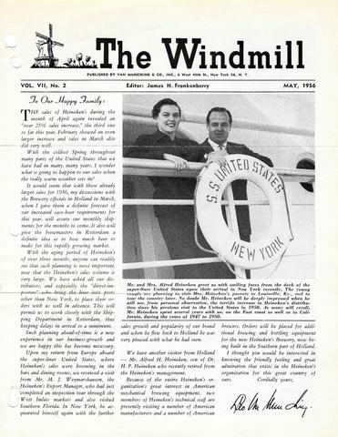 The Windmill 1956-05-01